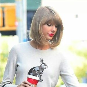 Talbots Bunny Rabbit Sweater XS